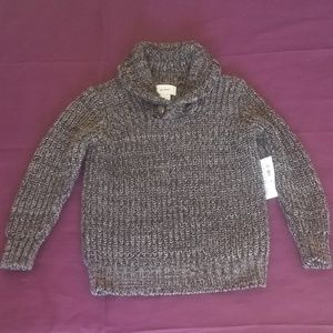 Old Navy Black and Grey Sweater Shirt NWT